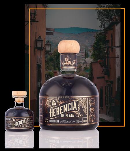 guter mexikanischer Tequila Likör aus 100% Agave von Herencia de Plata