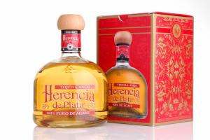 guter mexikanischer Tequila Añejo aus 100% Blaue Agave von Herencia de Plata