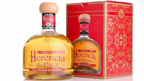 Tequila Añejo Herencia de Plata 38% Alc., 700ml, 100% Blaue Weber Agave