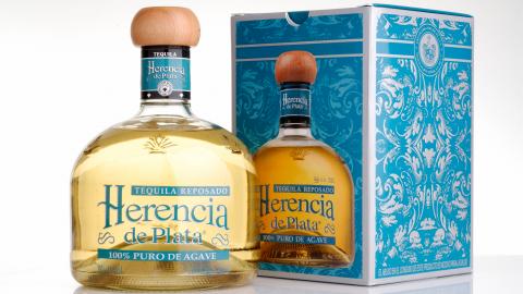 Tequila Reposado Herencia de Plata 38% Alc., 700ml, 100% Blaue Weber Agave