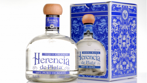 Tequila Blanco Herencia de Plata 38% Alc., 700ml, 100% Blaue Weber Agave