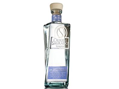 guter mexikanischer Tequila Blanco aus 100% Agave von Origen Sagrado