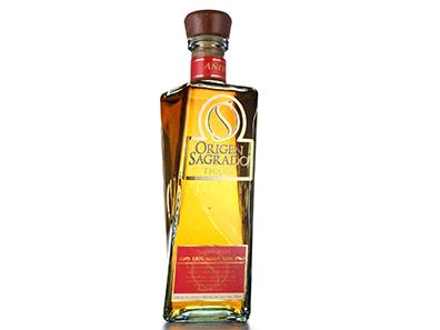 guter mexikanischer Tequila Añejo aus 100% Agave von Origen Sagrado