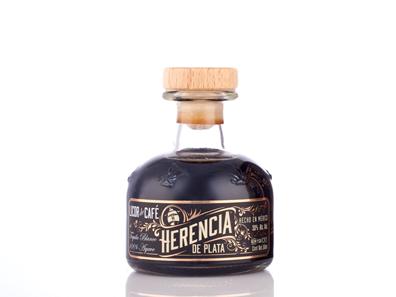 mexikanischer Tequila Likör mit Kaffee von Herencia de Plata