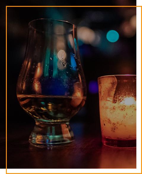 Tequila Blanco im Glas