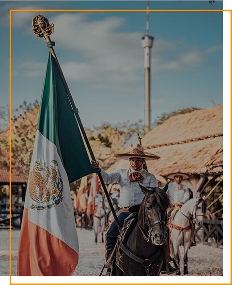Mexikanischer Reiter