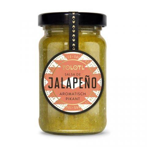 YOLOTL Salsa de Jalapeño,würzig pikante Jalapeño-Sauce
