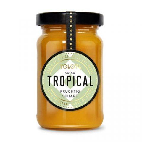Ananas Chili Sauce, YOLOTL, fruchtig scharfe Salsa de Tropical