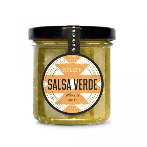 Salsa Verde, YOLOTL, 167ml, würzig milde mexikanische Chili Sauce