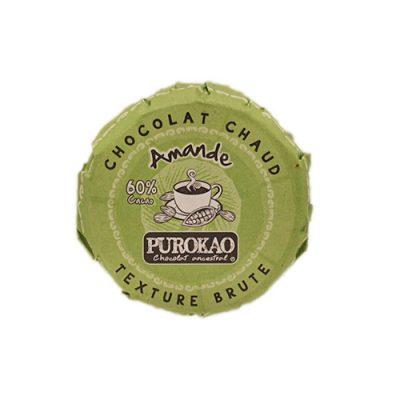 Purokao 60% Kakao Trinkschokolade mit Mandel