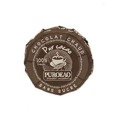 leckcere Trinkschokolade von Purokao 100% Kakao