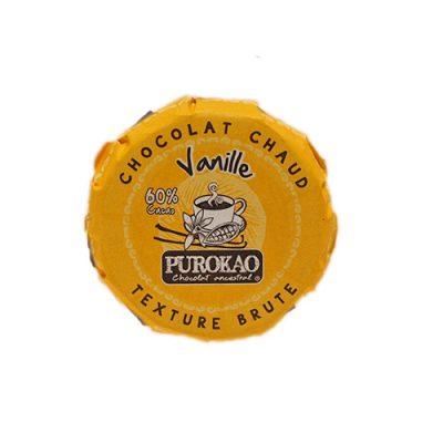 Purokao Trinkschokolade 60% Kakao mit Vanille