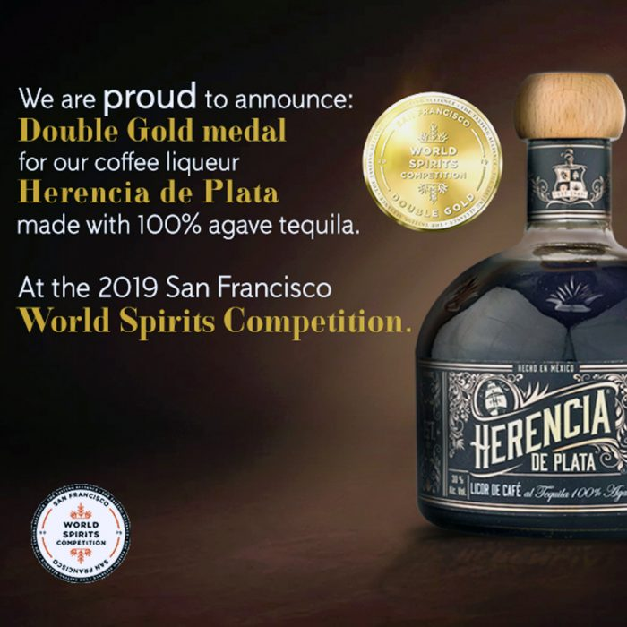 Kaffee Likör Tequila Herencia de Plata
