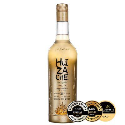 Ein guter mexikanischer premium Origen Reposado Tequila von Huizache
