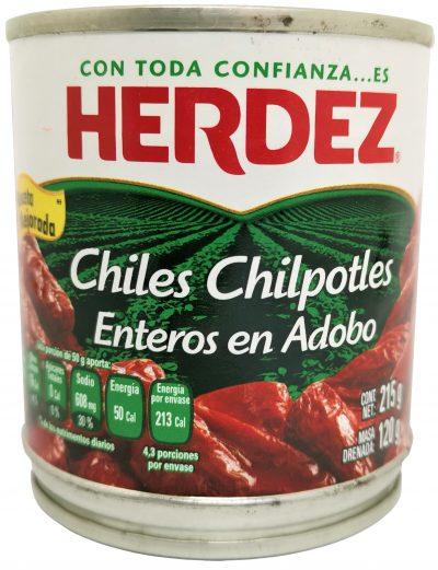 eingelegte Chipotle Chilis aus Mexiko in freuriger Marinade