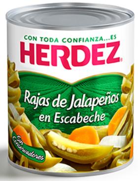 Jalapeno Chilis aus Mexiko in Scheiben