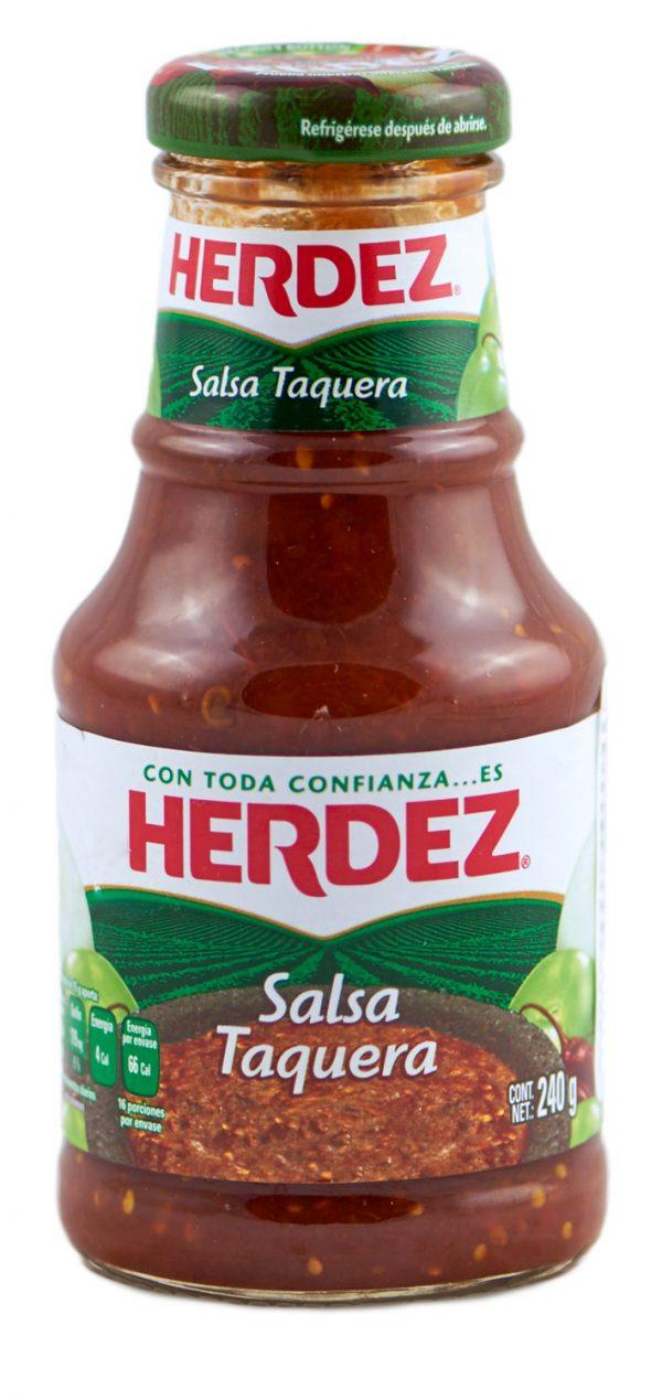 würzig pikante rote Salsa aus Mexiko