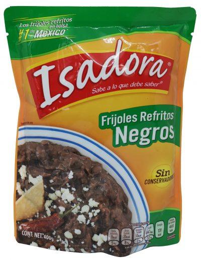 fritierte mexikanische schwarze Bohnen
