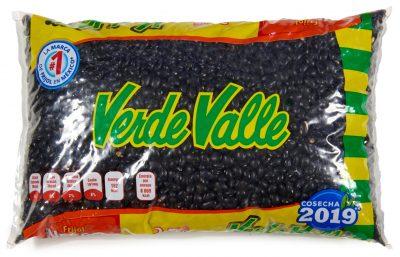 getrocknete ganze schwarze mexikanische Bohnen
