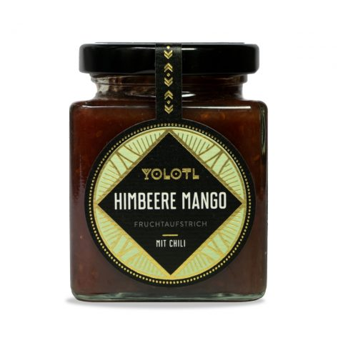 Yolotl Brotaufstrich Himbeere Mango