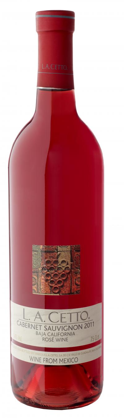 Mexikanischer trockener Roséwein