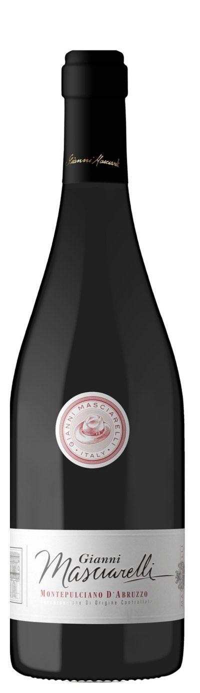 intensiver Rotwein aus den Abruzzen in Italien