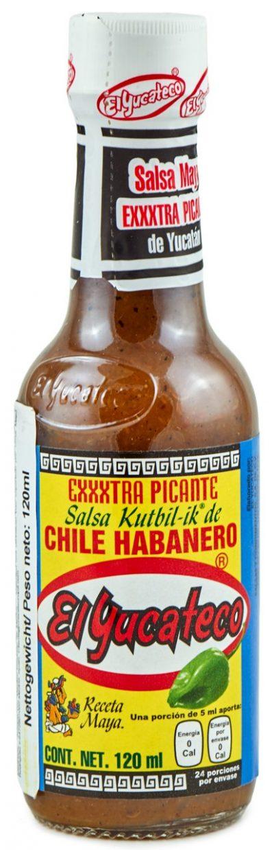 extrascharfe mexikanische Salsa aus Yucatan