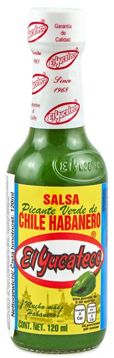 grüne mexikanische Salsa aus Yucatan