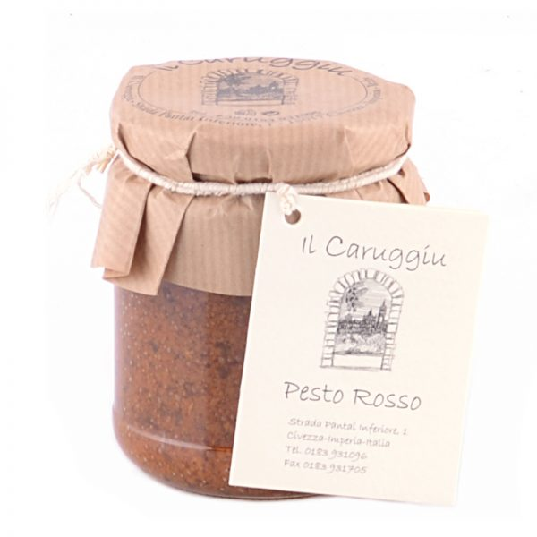 Italienisches rotes Pesto