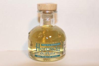 guter mexikanischer Tequila Reposado aus 100% Blaue Agave von Herencia de Plata