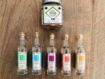 Tasting Set Mezcal und Sal de Gusano con Chile Salz und Gewürzmischung