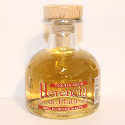 Herencia de Plata Tequila Añejo 38% (1 x 0.05 l)