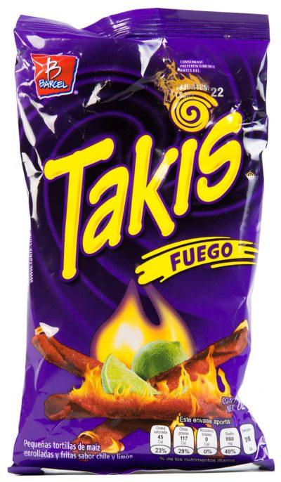 feurig scharfer Snack aus Mexiko