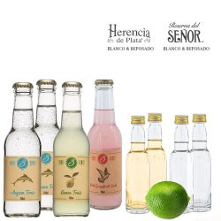 Das große Tequila-Longdrink Set mit Blanco & Reposado